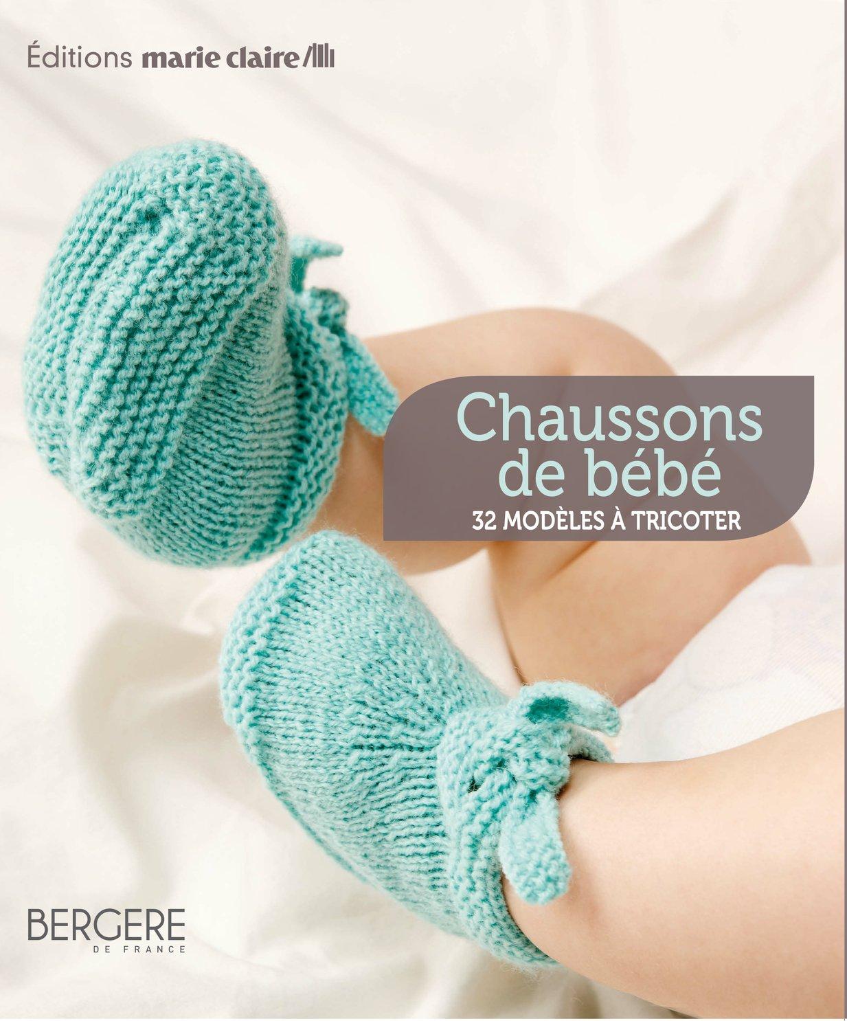 kit tricot chausson bebe